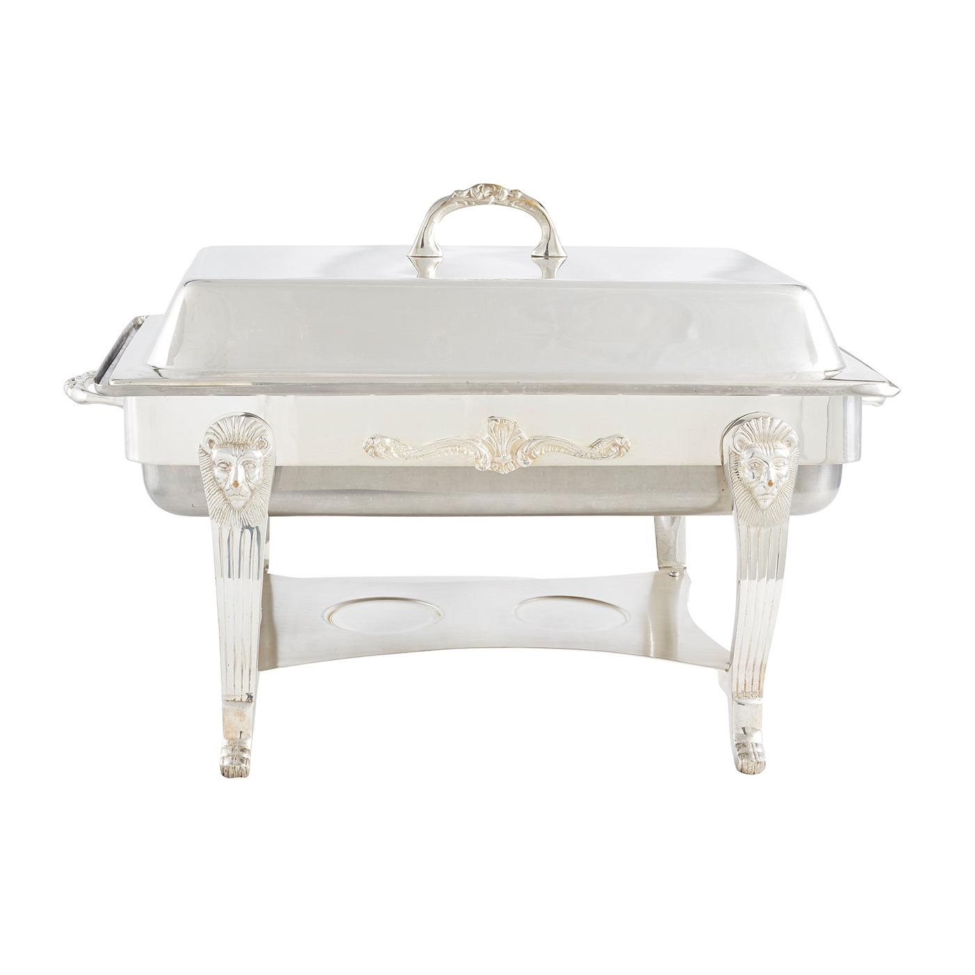 Silver Chafer - Oblong 8 Quart