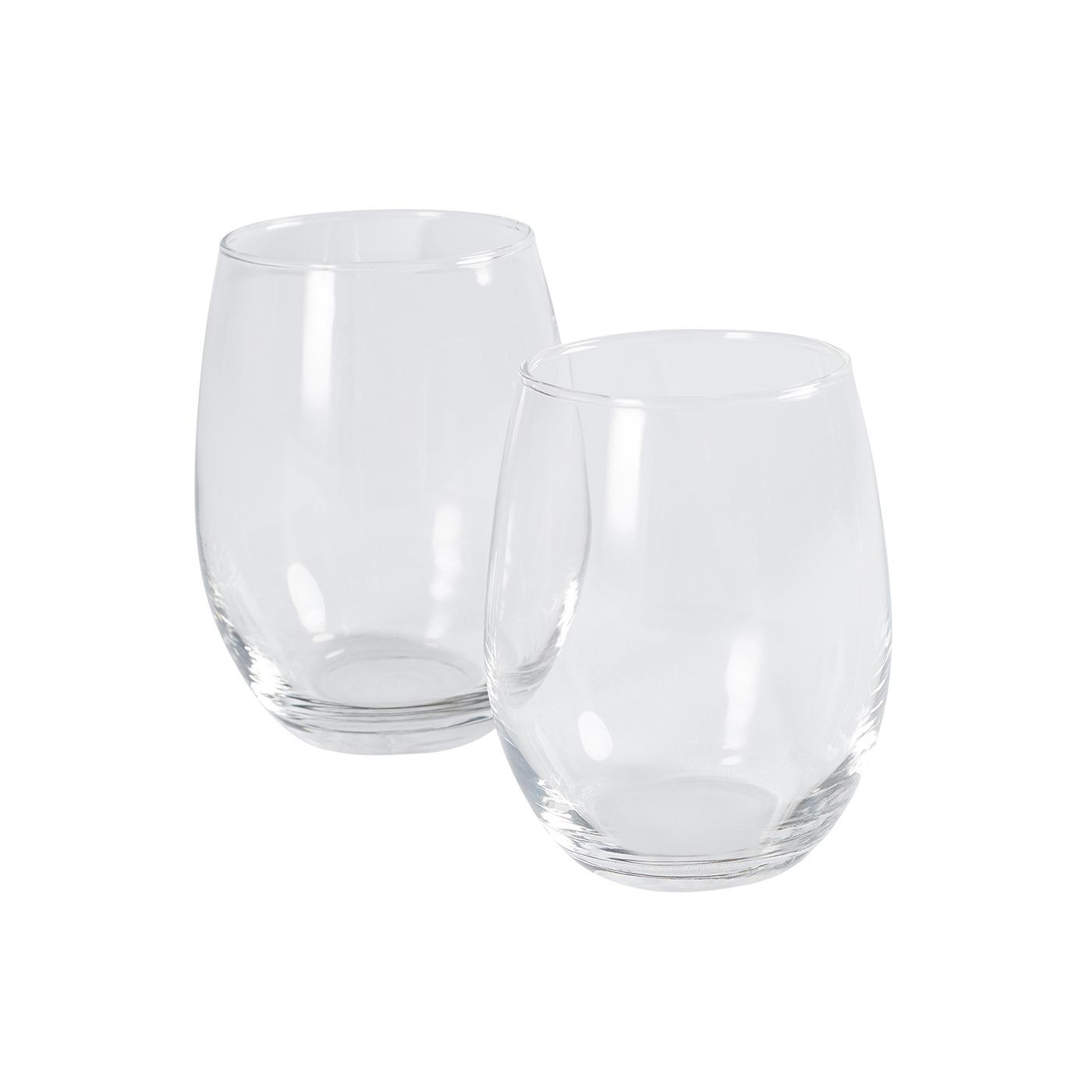 Stemless Wine Glass