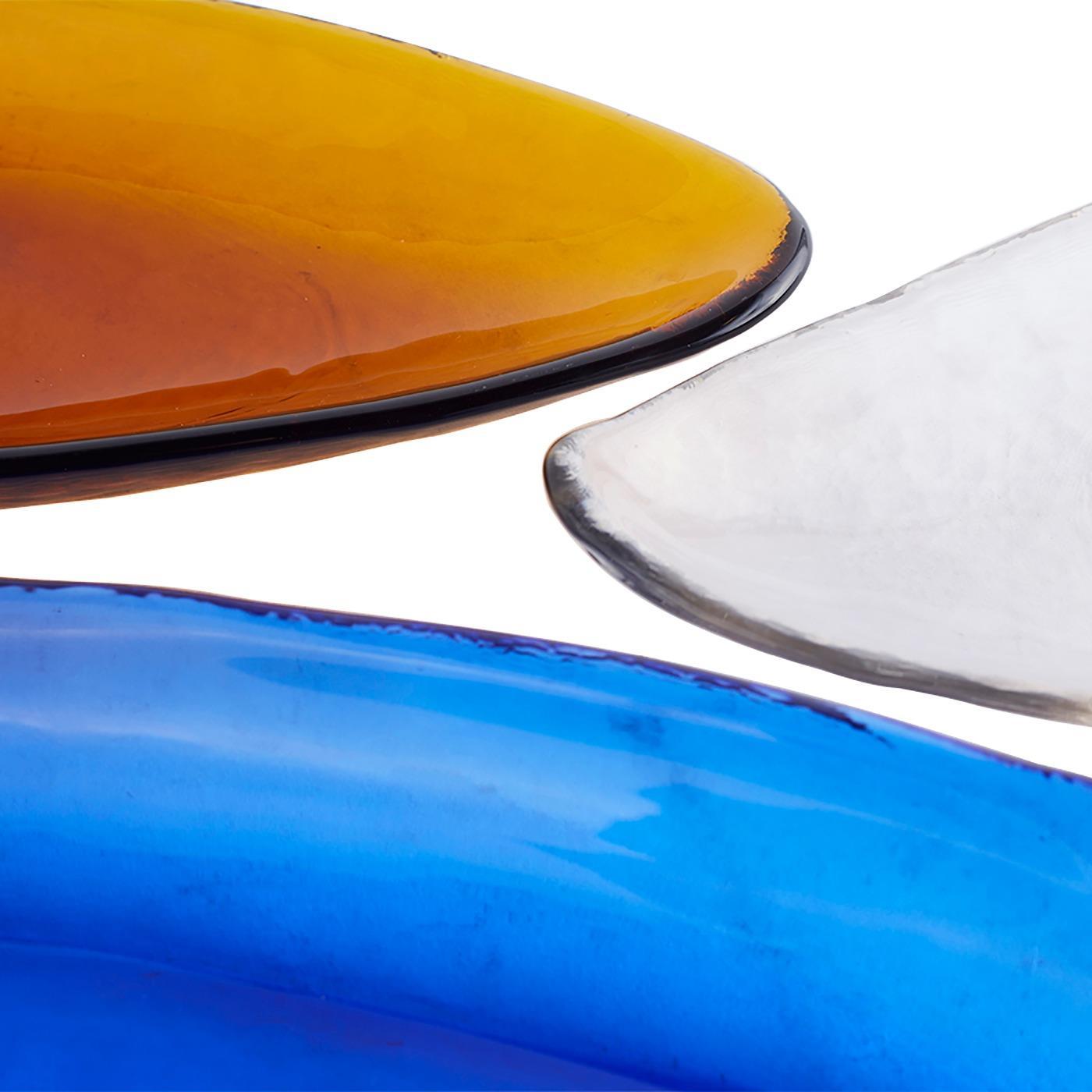 Canoe Glass Tray 6