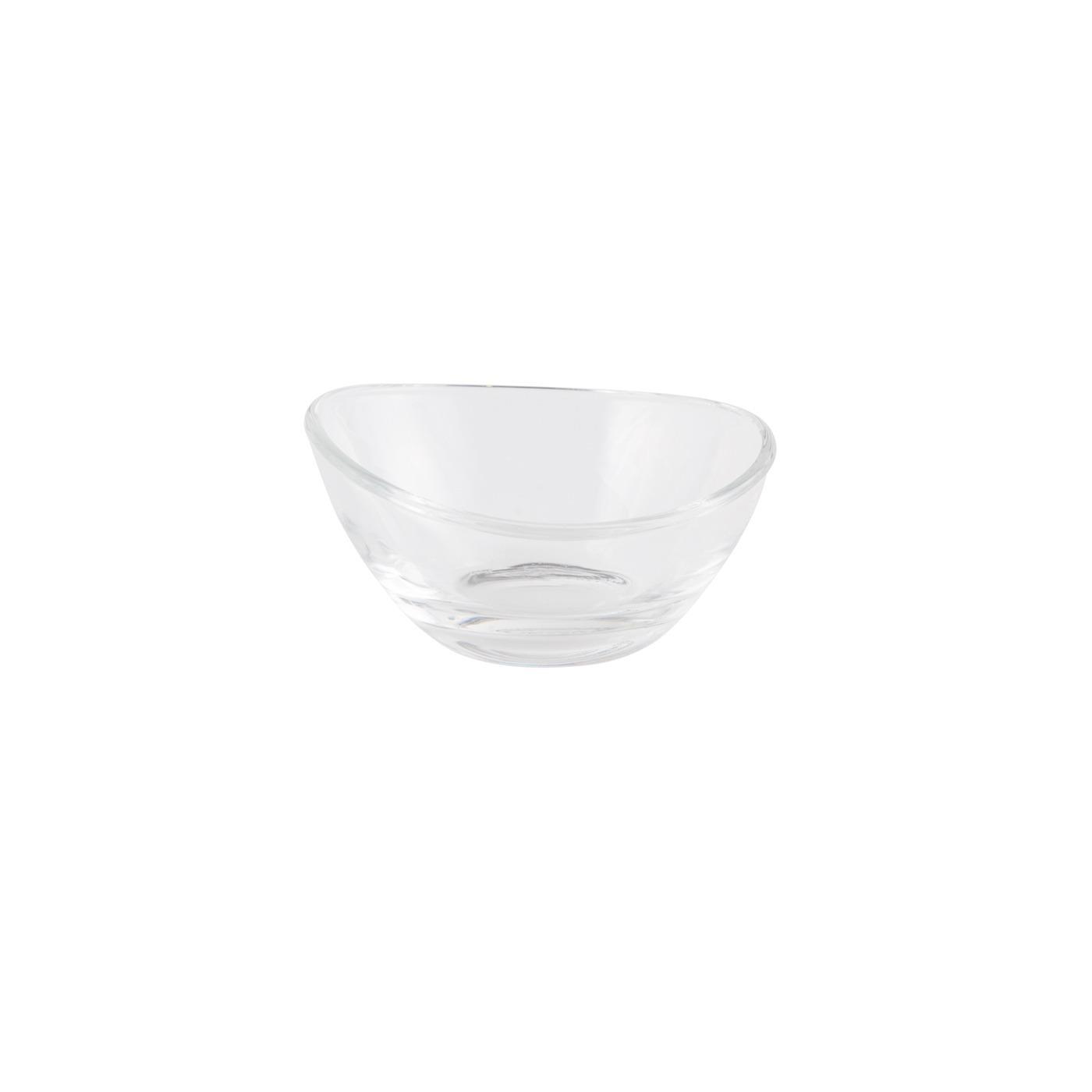 "Glass Papaya Bowl - 3.25"""
