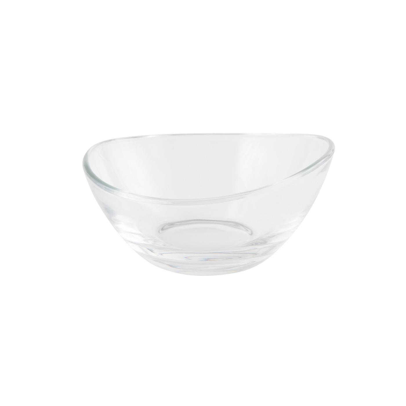 "Glass Papaya Bowl - 5.25"""