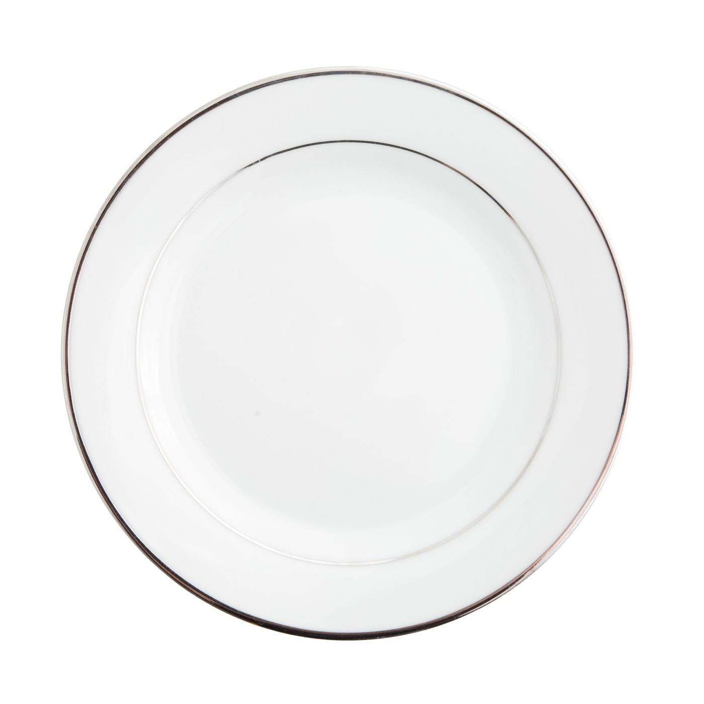 Platinum Band Collection -  Salad Plate 8""