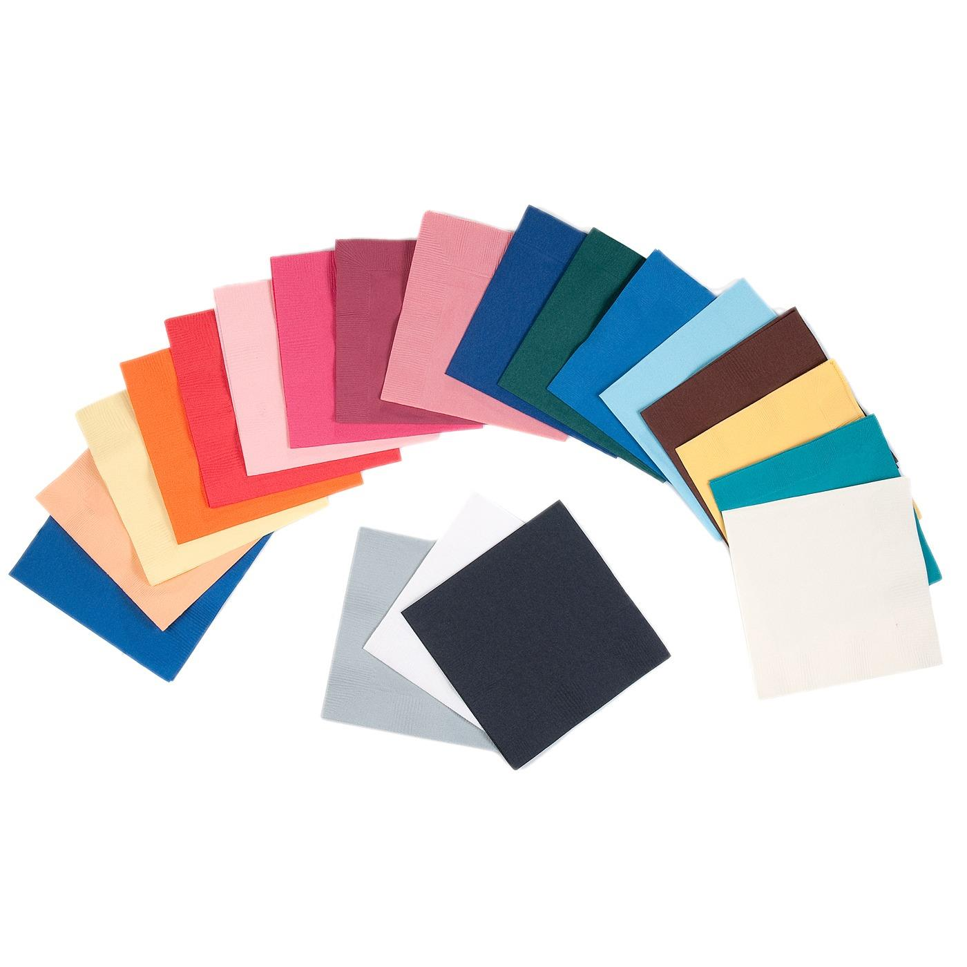Paper Cocktail Napkins-Box of 100