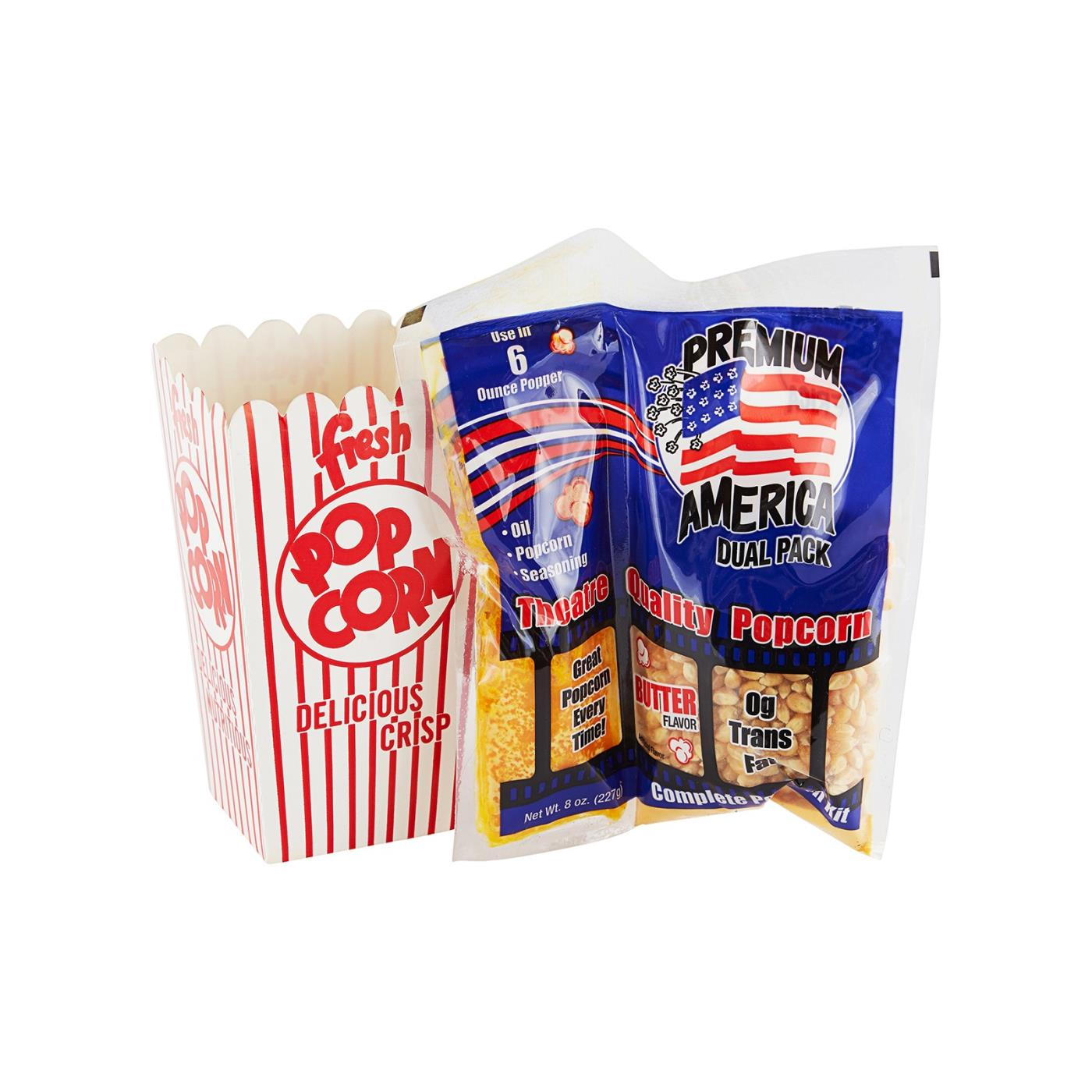 Popcorn Kit - Oil/Corn/Salt