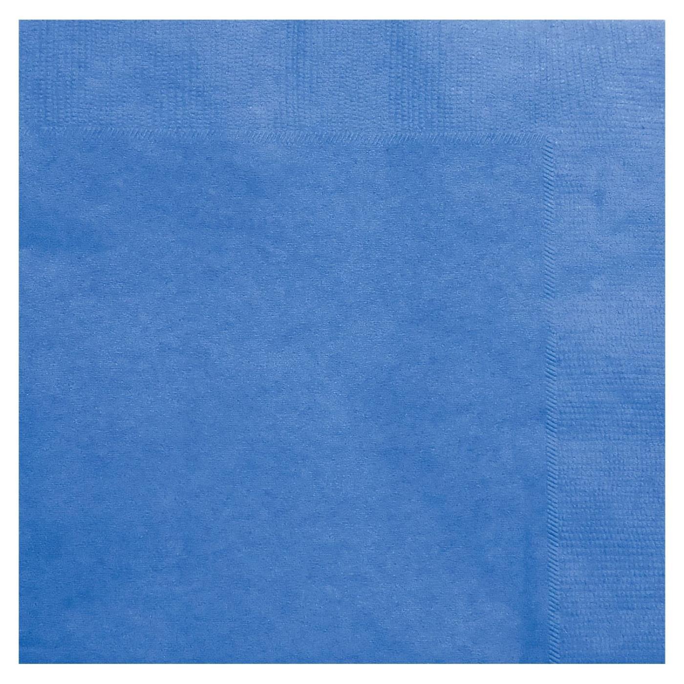Paper Cocktail Napkins-Box of 100 - Blue