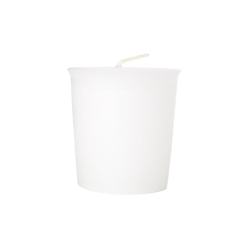 White Votive Candle (Wax)