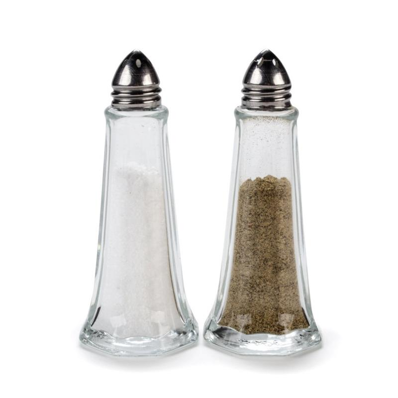 Salt & Pepper Set - Large Glass