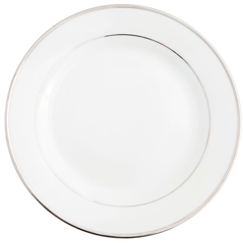 Platinum Band Collection -  Dinner Plate 10.5""