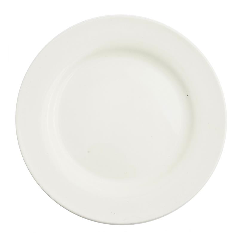 Vanilla China Collection -  Lunch Plate 9""