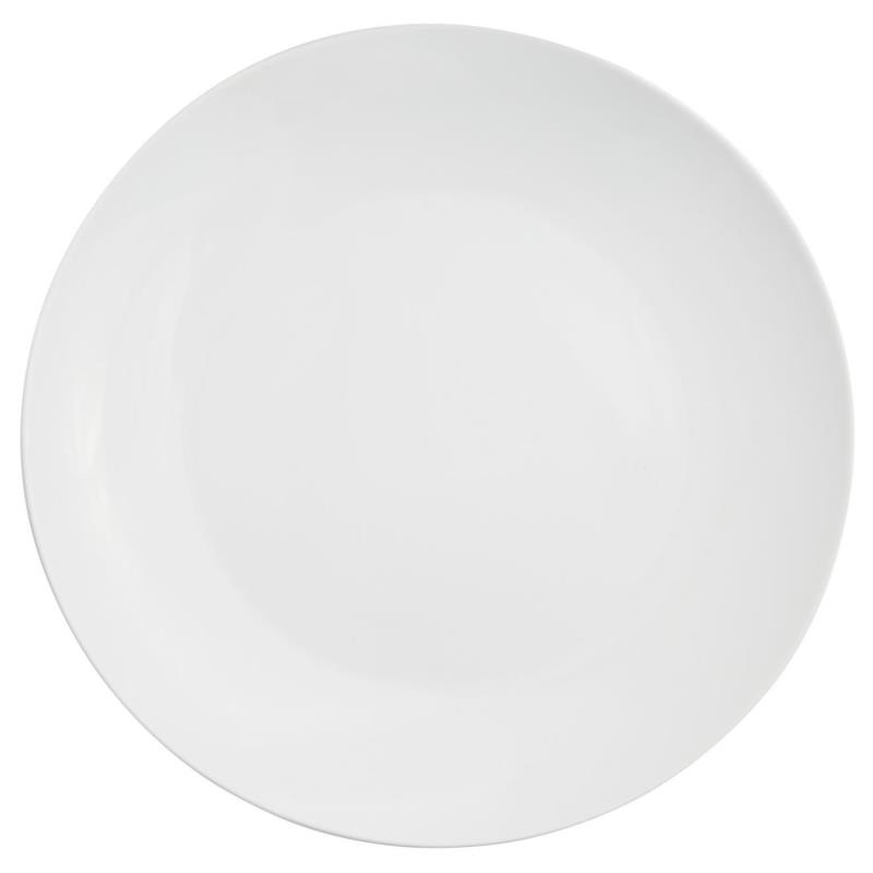 White Coupe Collection -  Dinner Plate 10.75""