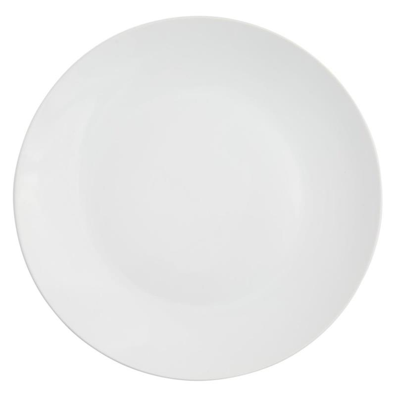 White Coupe Collection -  Lunch Plate 9.25""