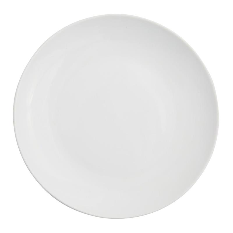 White Coupe Collection -  Salad Plate 8.25""