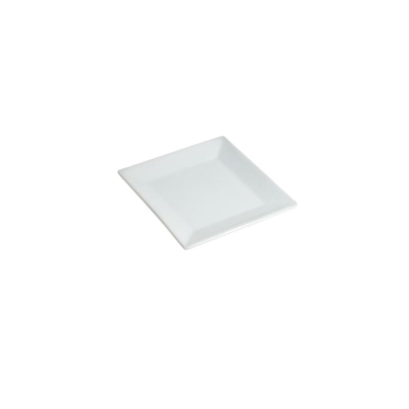 White Square Tasting Plate