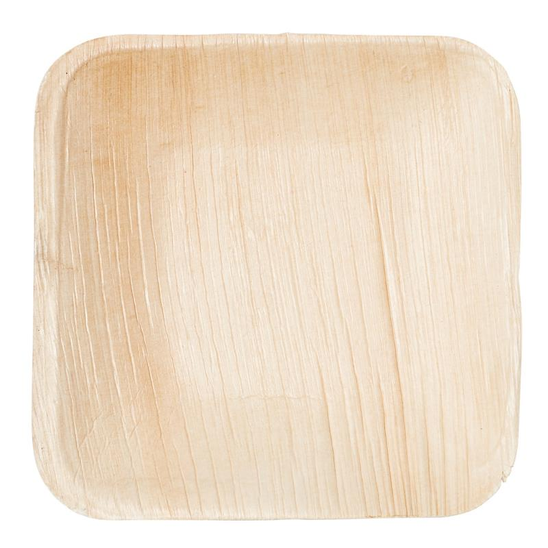 Palm Leaf Plate 6