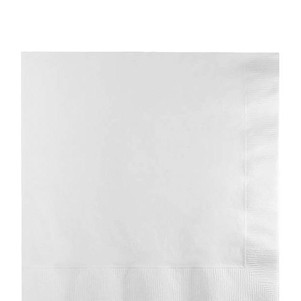Paper Cocktail Napkins-Box of 100 - White