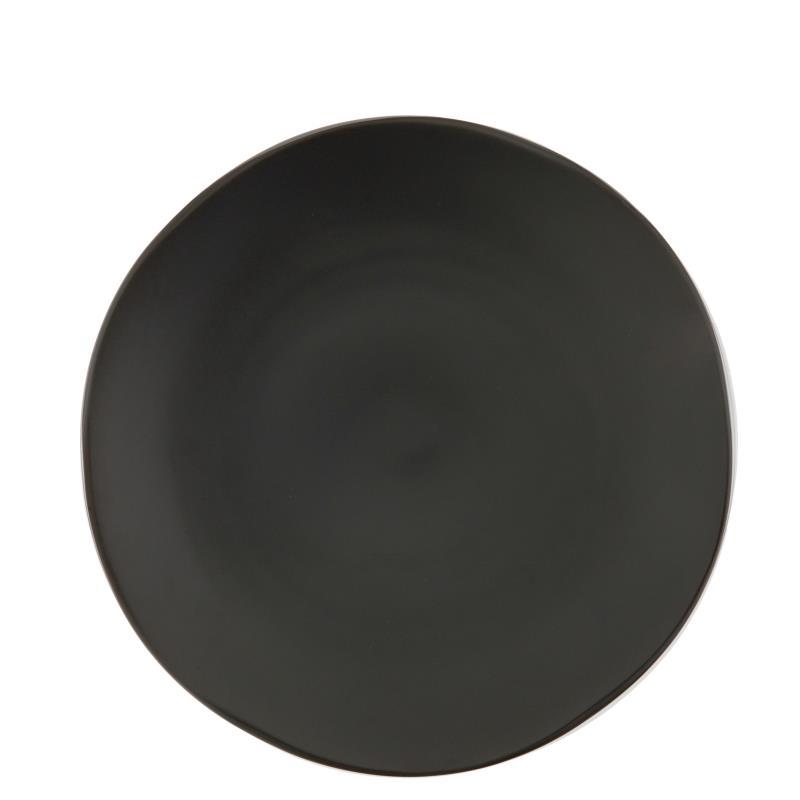 """Terra Dinner Plate 10.75"""" - Black"""