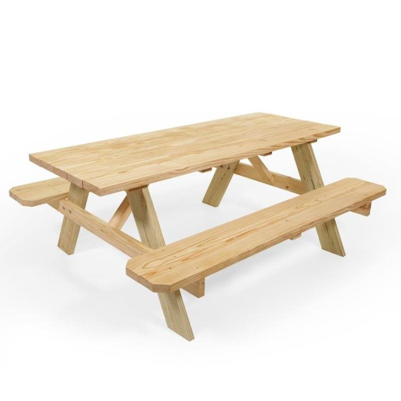 6' Picnic Table w/ Bench